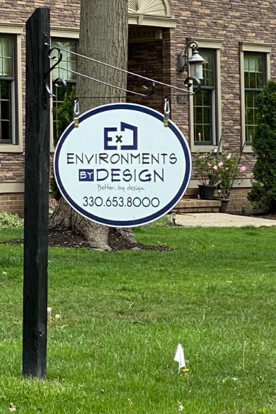 Environments by Design Yard Sign